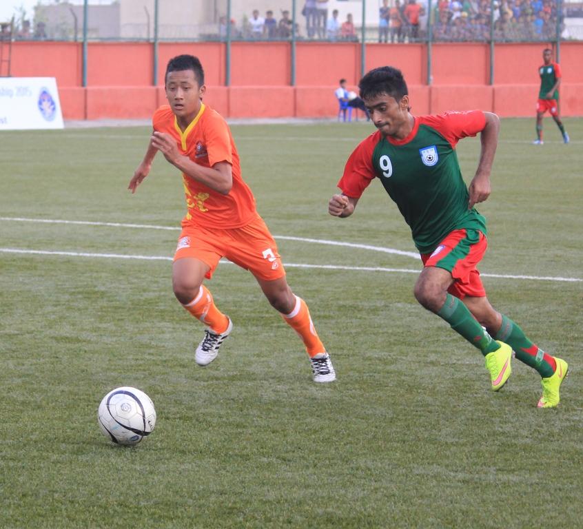 नेपाल यु-१९ साफको सेमीफाइनल मा प्रवेश