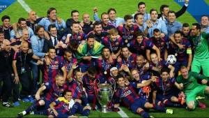 स्पानीस क्लब बार्सिलोनाले युइएफए सुपर कपको उपाधि जितेको छ