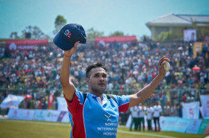 Binod Das in last match