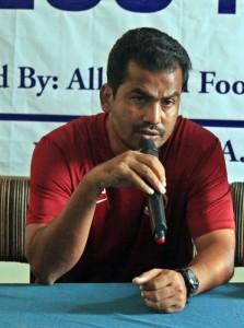 सायद सविर पसा (भारतीय प्रशिक्षक)